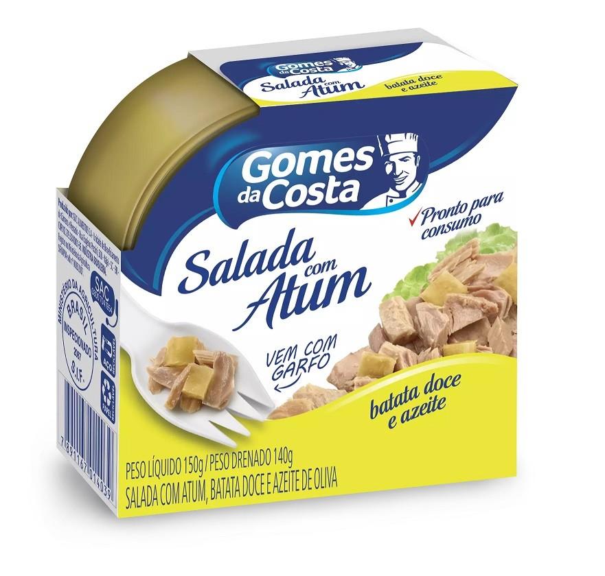 SALADA COM ATUM E BATATA DOCE GOMES DA COSTA  150G