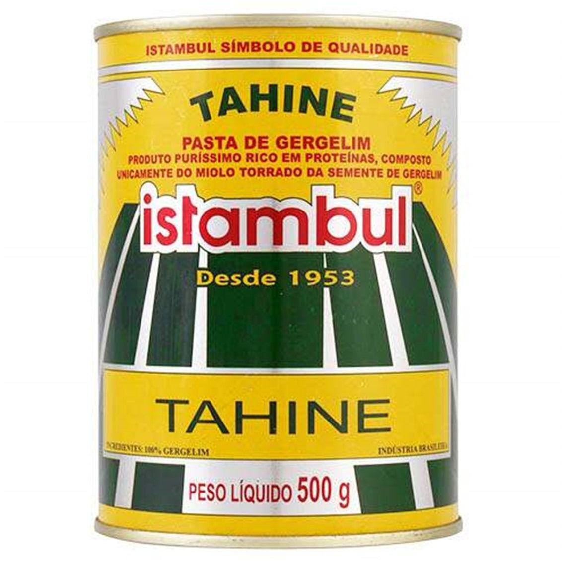 TAHINE ISTAMBUL CREME DE GERGELIM  LATA 500G