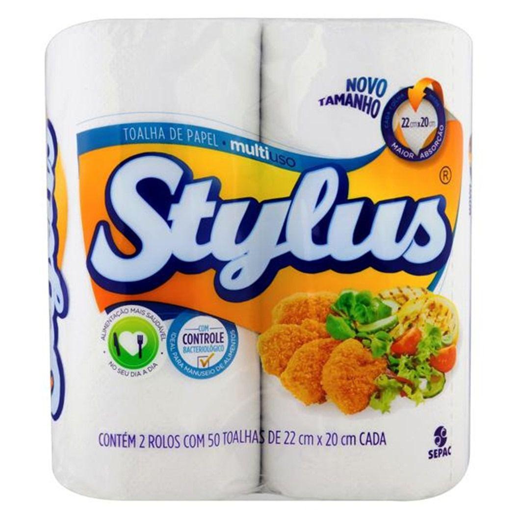 TOALHA DE PAPEL STYLUS    C/2UN