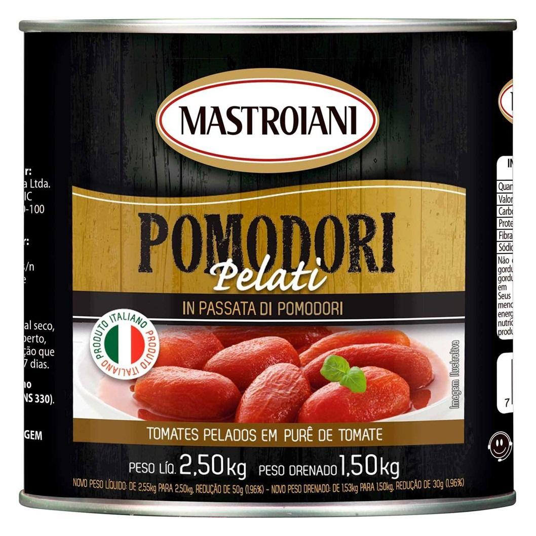 TOMATE PELADO MASTROIANI   2,5KG