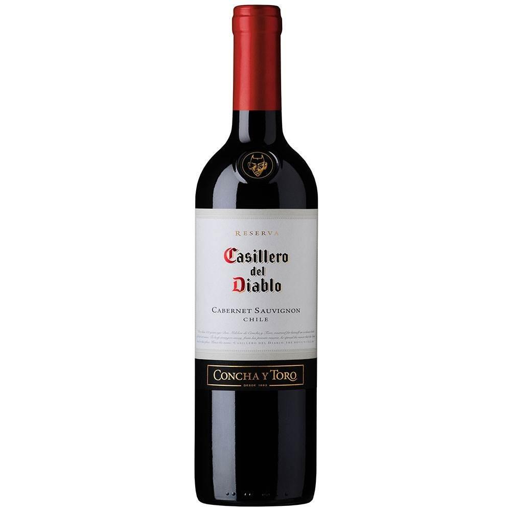 VINHO CHILENO CASILLERO DEL DIABLO CABERNET SAUVINON 750ML