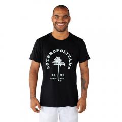 Camiseta Soteropolitano Algodão Preto Tempt