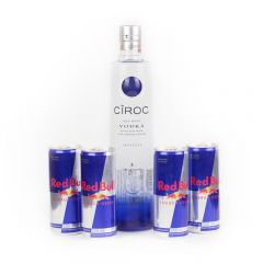 Combo de 1 vodka Cîroc e 4 energéticos Red Bull