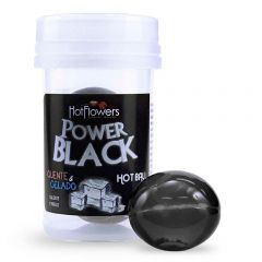 Hot Ball Power Black Quente e Gelado Bolinhas Funcionais - Hot Flowers