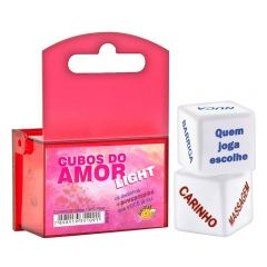 Jogo Dados Cubos do Amor Light - Diversão ao Cubo