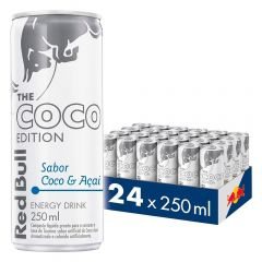 Kit 24 Latas Energético Coco Edition Coco e Açaí 250ml - Red Bull