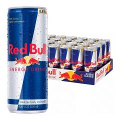 Kit 24 Latas Energético Energy Drink 250ml - Red Bull