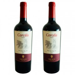Kit 2 Vinhos Tintos Corcéis Tannat - Vinícola Helios