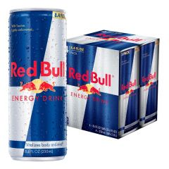Kit 4 Latas Energético Energy Drink 250ml - Red Bull