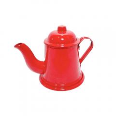 Mini Bule Em Alumínio Vermelho Degusto Arte