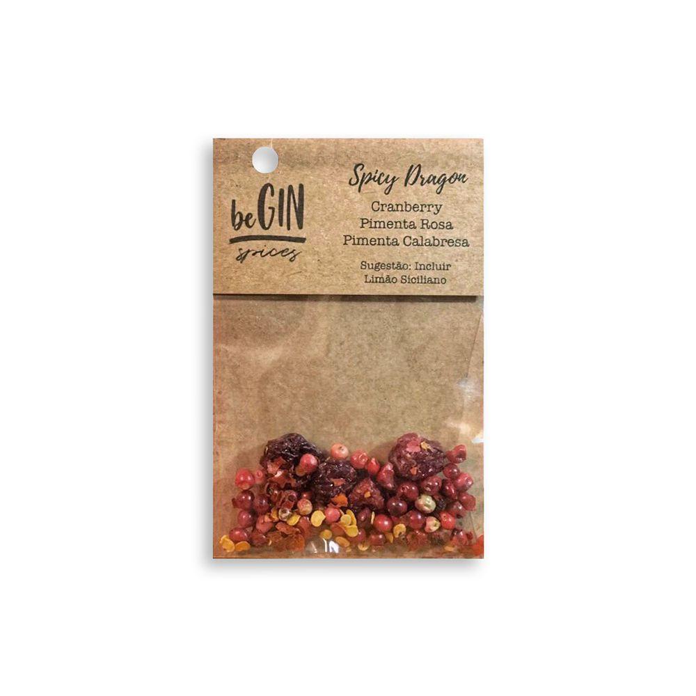 1 Box com 12 Sachês Individuais Sabor Spicy Dragon - BeGIN Spices