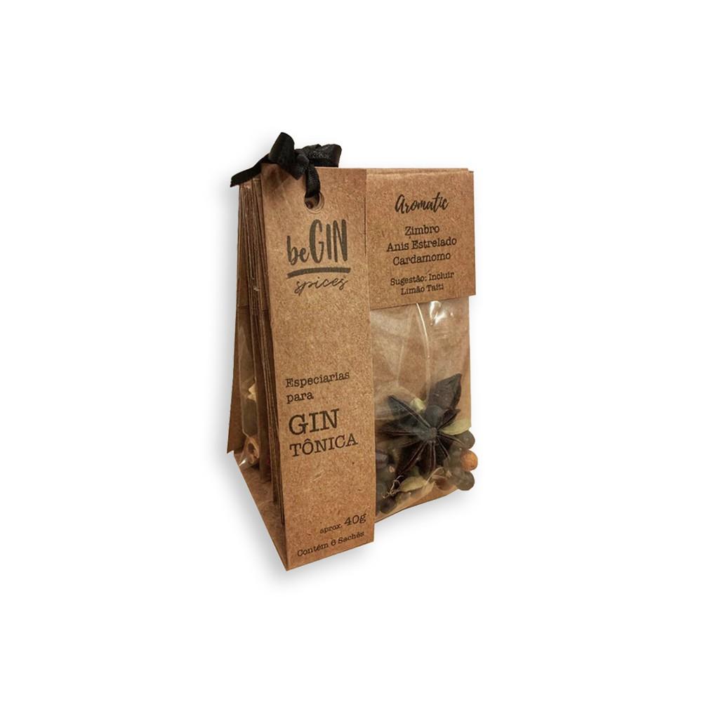 Kit de Especiarias com 6 Sachês Diversos - beGIN Spices
