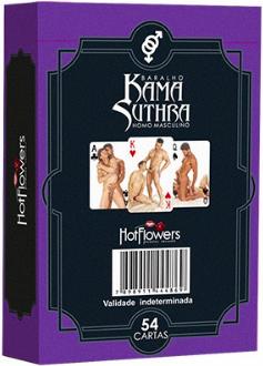 Baralho Kama Suthra - Homo Masculino - Hot Flowers