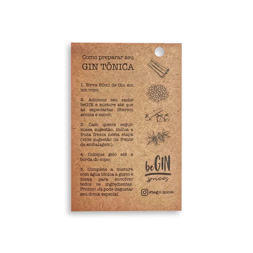 1 Box com 12 Sachês Individuais Sabor Aromatic - BeGIN Spices