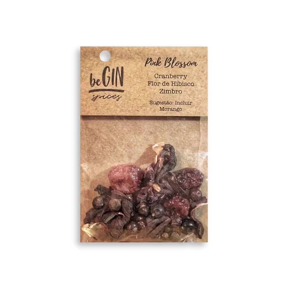 Box 12 Sachês Sabor Pink Blossom - BeGIN Spices