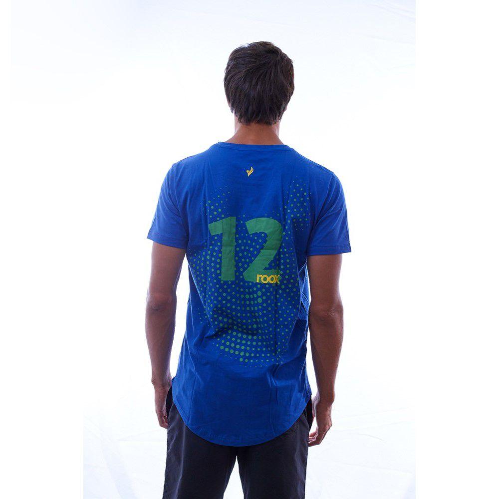 Camiseta Algodão Pátria Amada Brasil 12° Jogador - roox