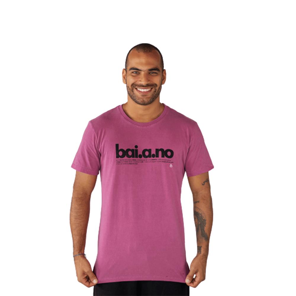 Camiseta Baiano Algodão Roxo Tempt