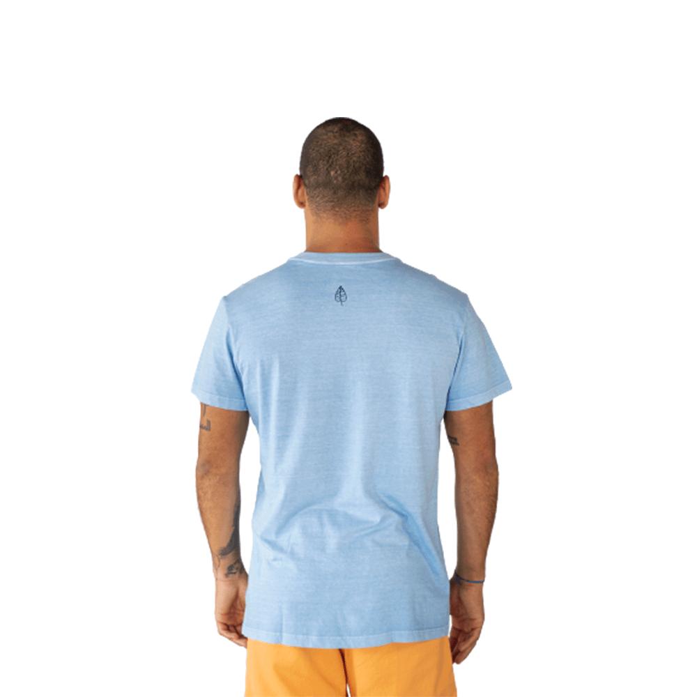 Camiseta Coqueiros Algodão Azul Claro Tempt