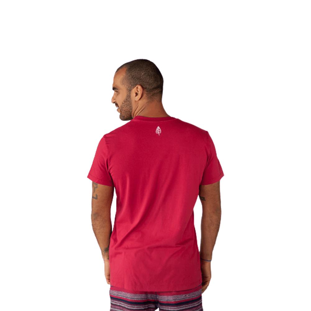 Camiseta Cuscuz, Café e Cafuné Algodão Vermelho Tempt