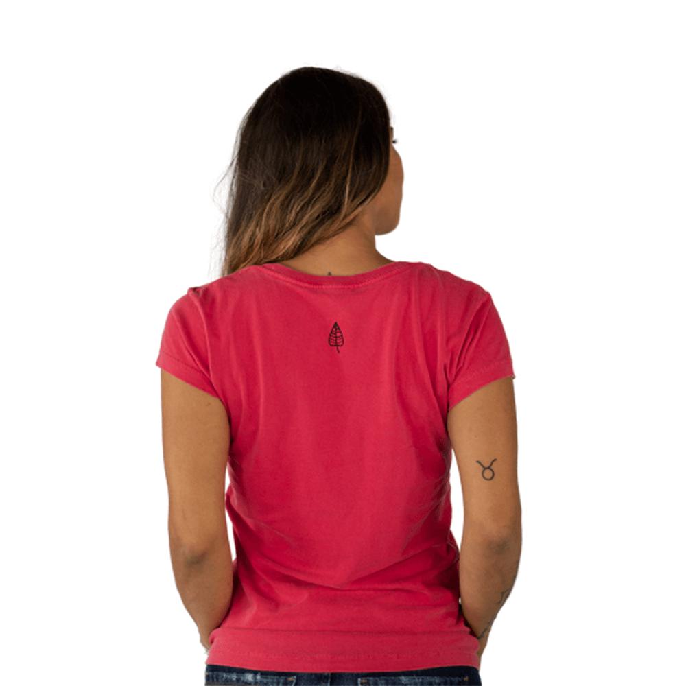 Camiseta Deus Benza Algodão Vermelha Tempt