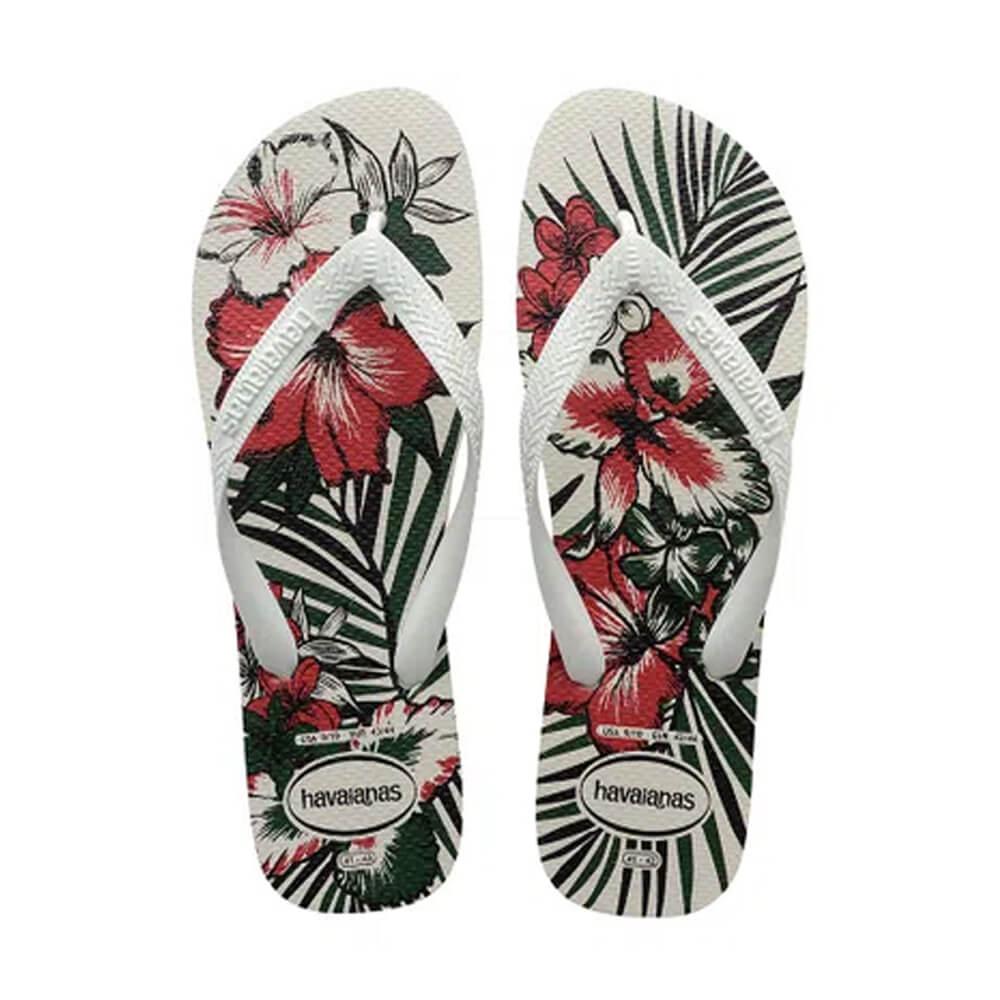 Chinelo Aloha Branco - Havaianas