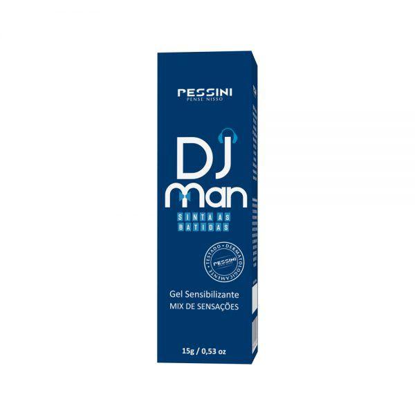 Creme Íntimo Masculino DJ MAN 15g - Sensações Incríveis - Pessini