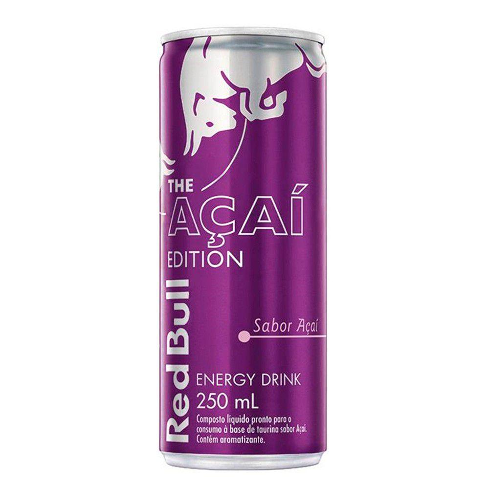 Energético Açaí Edition 250ml - Red Bull