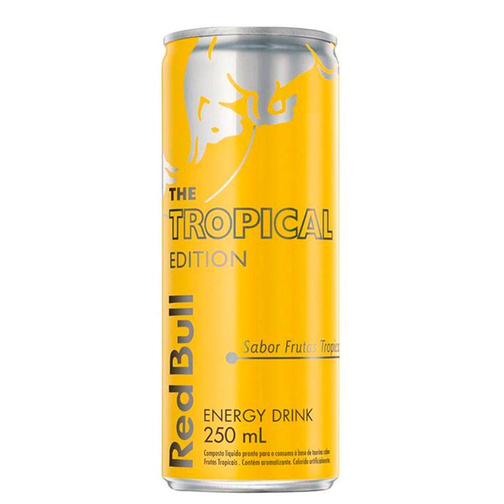 Energético Tropical Edition 250ml Red Bull
