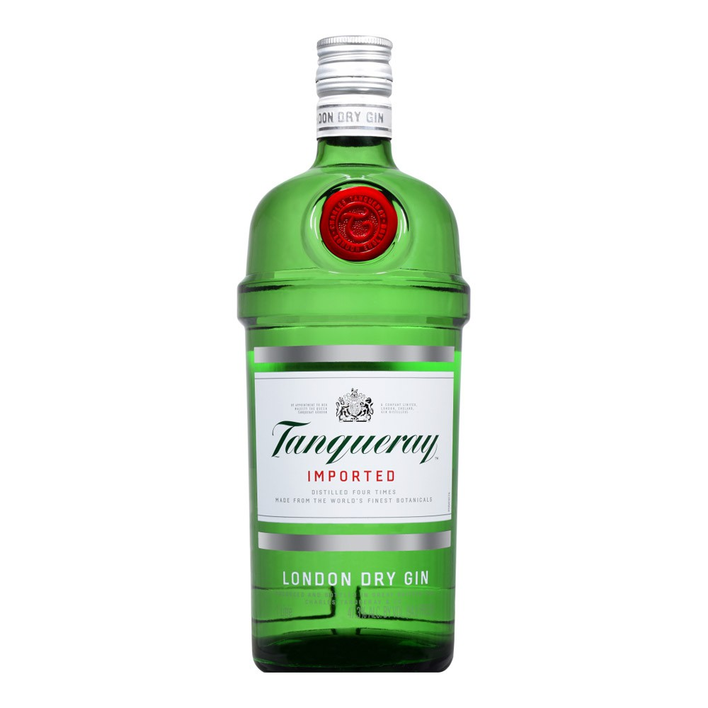 Kit 1 Gin Tanqueray London Dry com 4 Energéticos Red Bull Tropical e 6 Especiarias sabor Aromatic
