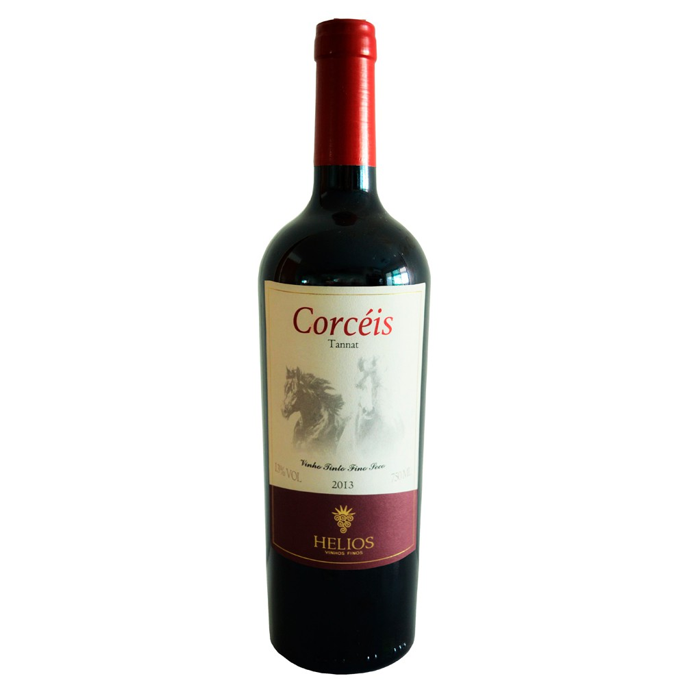 Kit 2 Vinhos Tintos Corcéis Tannat e Pinot - Vinícola Helios