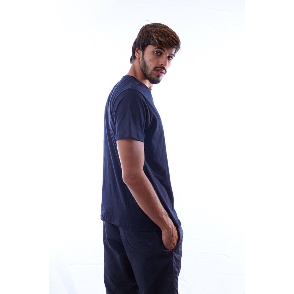 Kit 3 Camisetas Básicas Pretas 100% Algodão - Nepan