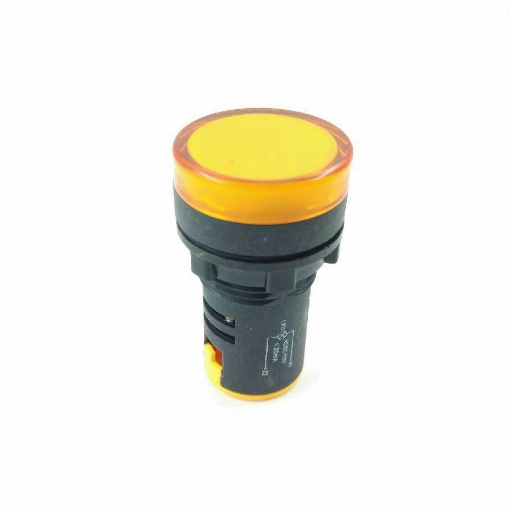 KNSMAM - Sinalizador 110V Amarelo Kraus & Naimer - ML Elétrica