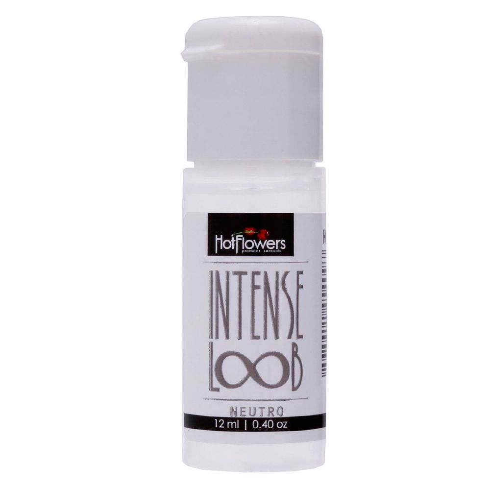 Loção Siliconada Unissex Intense Loob Neutro 12ml - Hot Flowers