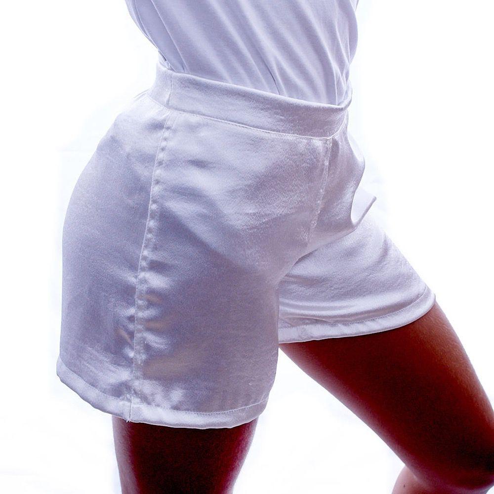 Short Glamour Branco - Nepan