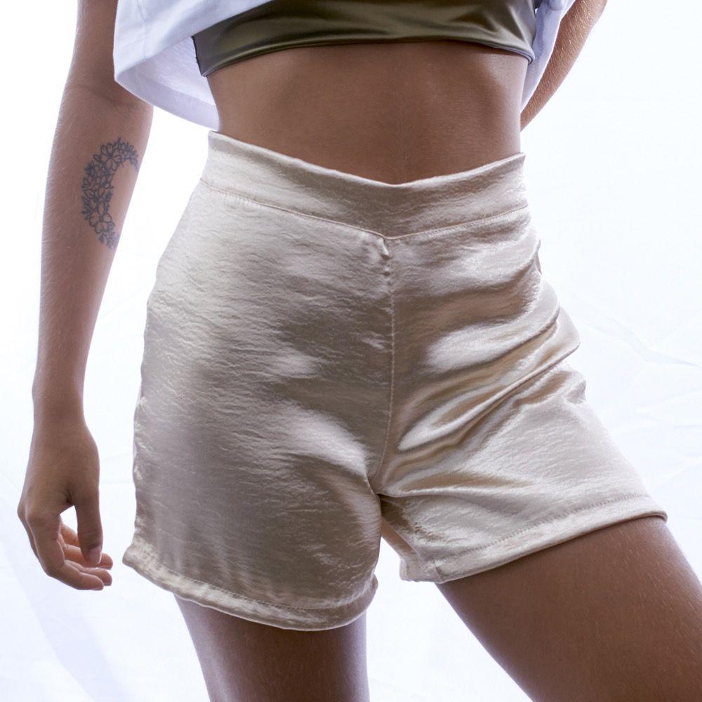 Short Glamour Dourado - Nepan