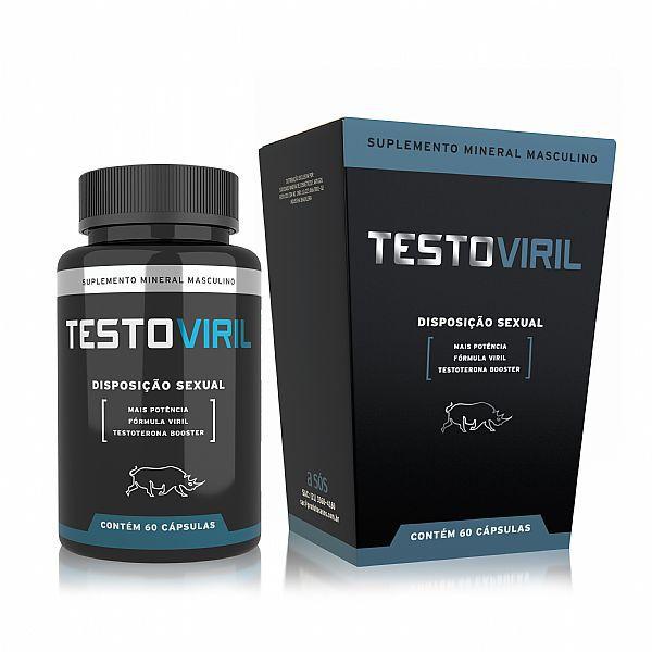 Testoviril Disposição Sexual Masculina - Testosterona Booster - A Sós