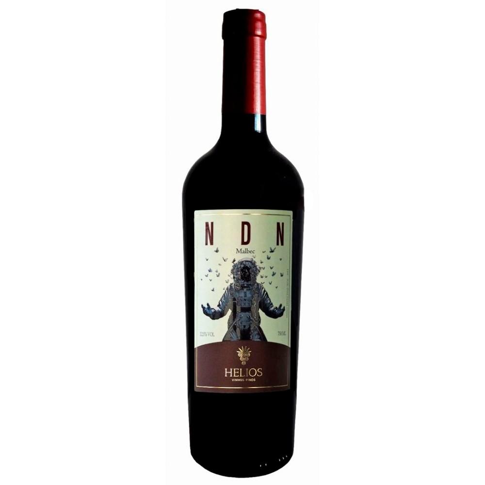 Vinho Tinto NDN 2013 Uva Malbec 750ml - Vinícola Helios