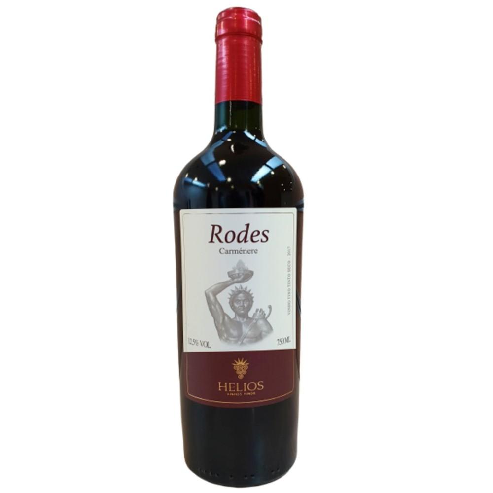 Vinho Tinto Rodes 2017 Uva Carménère 750ml - Vinícola Helios