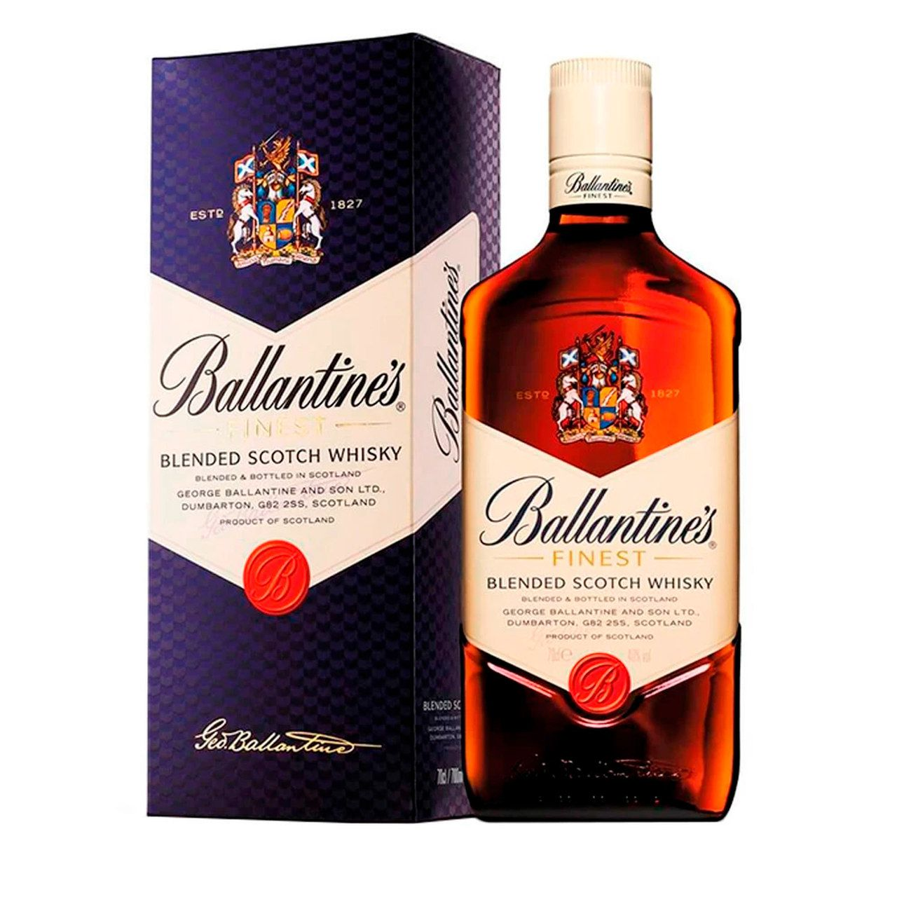 Whisky Ballantine's Finest 8 anos 750ml - Pernod Ricard