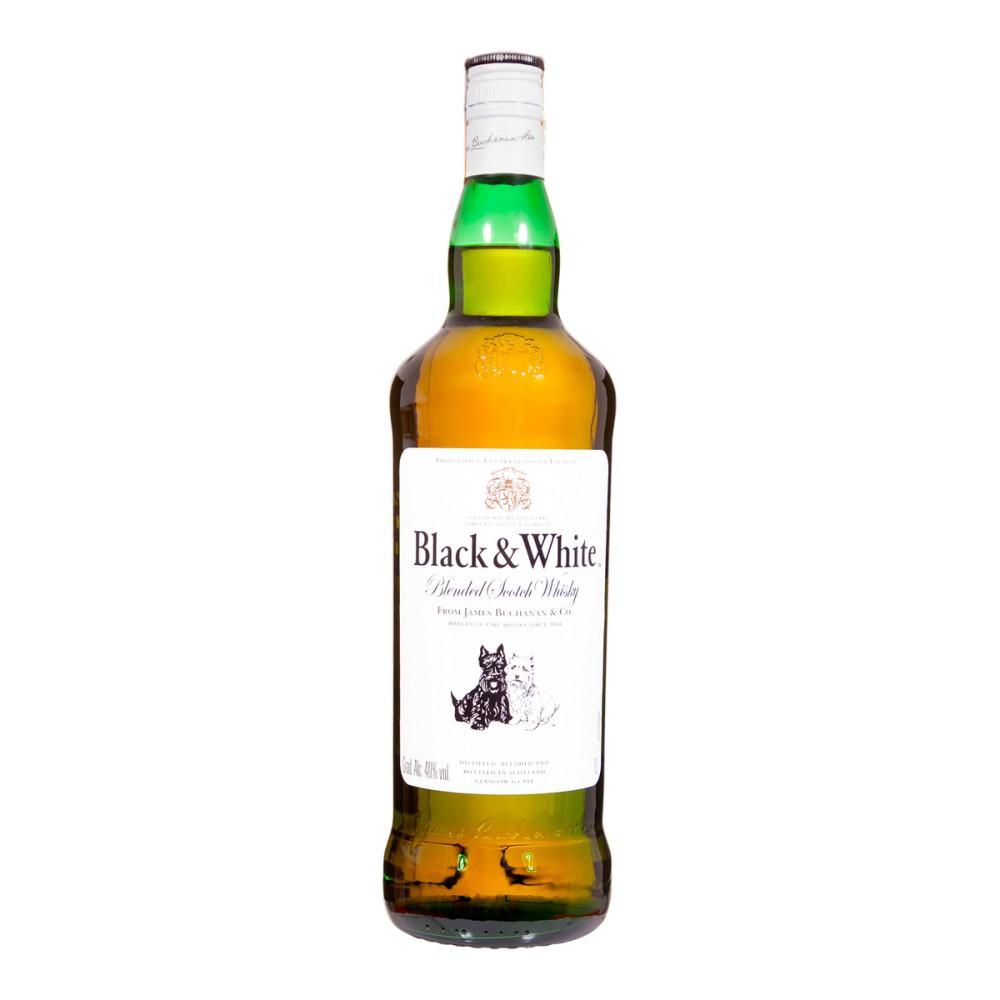 Whisky Black & White 1L - Diageo