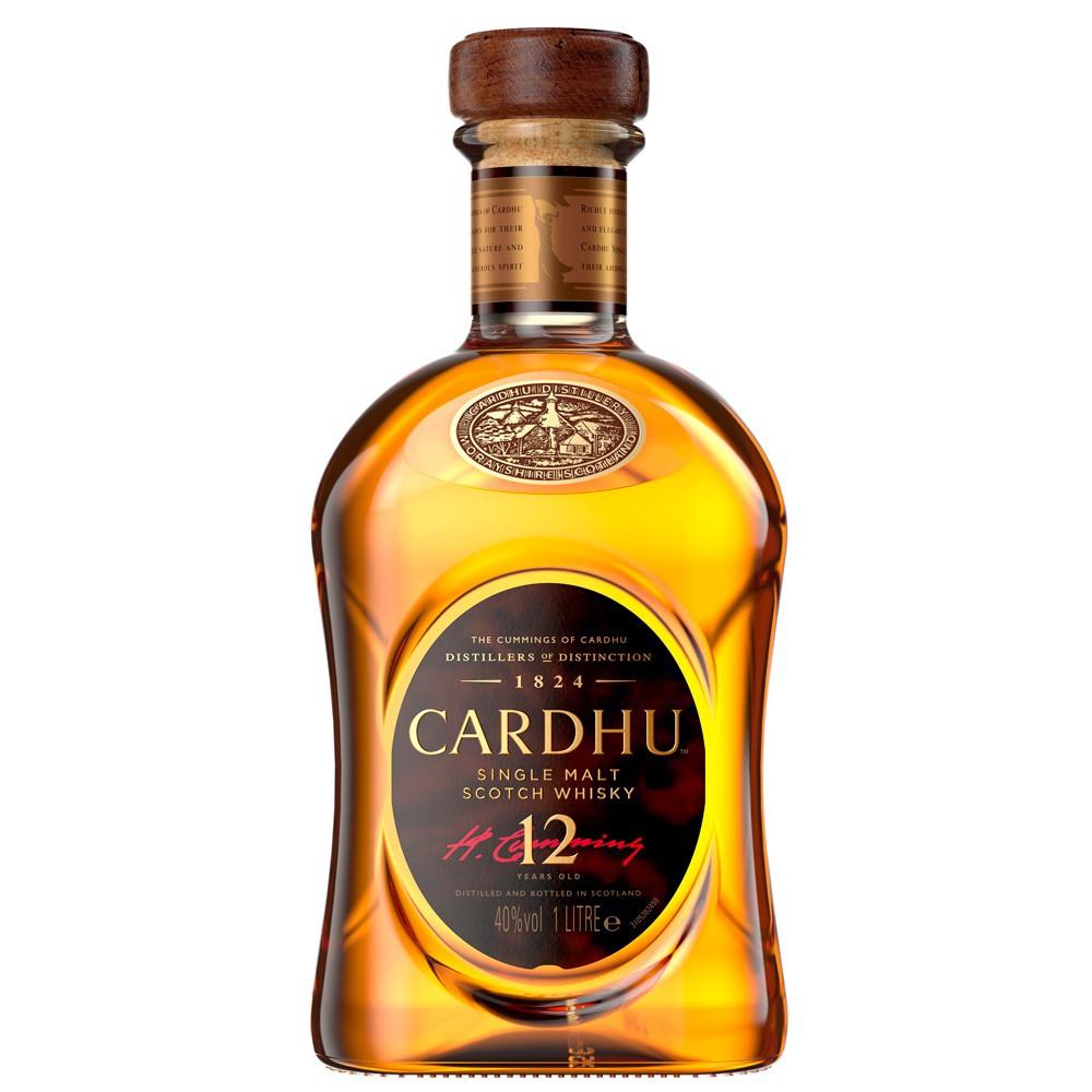 Whisky Cardhu 12 Anos 1L - Diageo