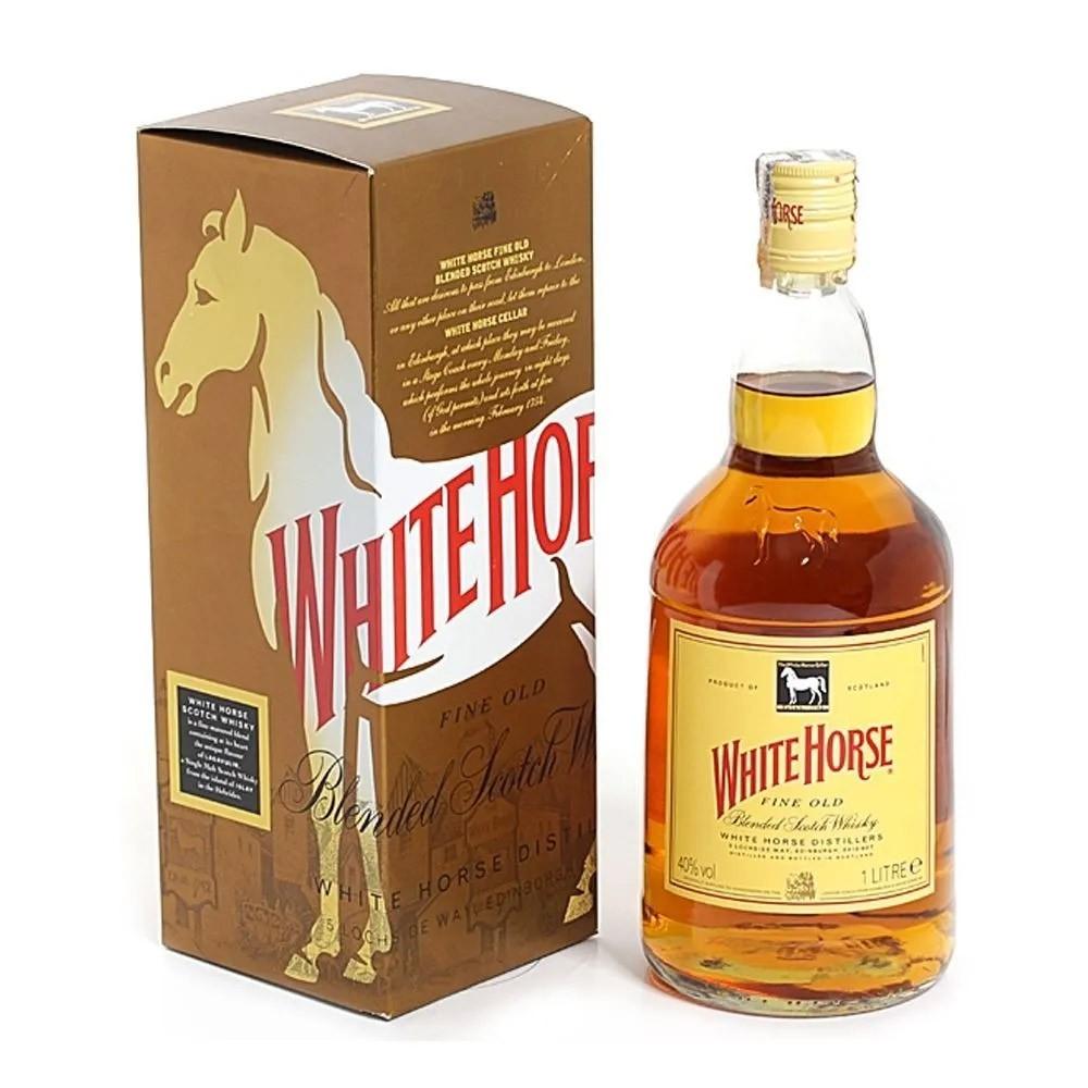 Whisky White Horse 8 Anos 1L - Diageo