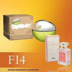 Perfume F14 Inspirado no DKNY Be Delicious da Donna Karan Feminino