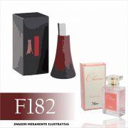 Perfume F182 Inspirado no Deep Red da Hugo Boss Feminino