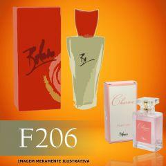 Perfume F206 Inspirado no Bolero da Gabriela Sabatini Feminino