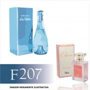 Perfume F207 Inspirado no Cool Water da Davidoff Feminino