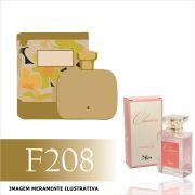 Perfume F208 Inspirado no Frangipani Flower da Mahogany Feminino