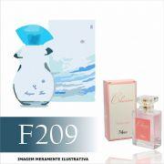 Perfume F209 Inspirado no Inizzio Acqua Extreme da L'acqua Di Fiori Feminino