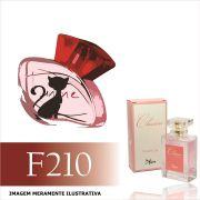 Perfume F210 Inspirado no Intense Cats da O Boticário Feminino