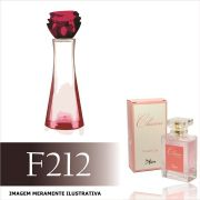 Perfume F212 Inspirado no Kriska Descoberta da Natura Feminino